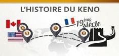 histoire du keno