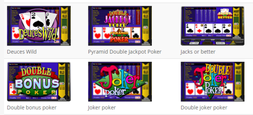 Variantes de Video Poker