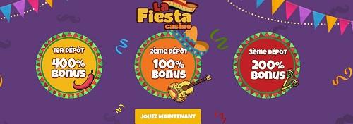 La Fiesta Casino En Ligne
