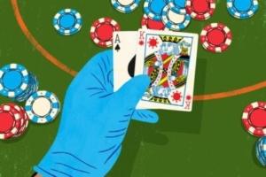 Poker covid